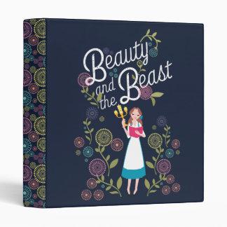 Belle | Beauty And The Beast Vinyl Binder