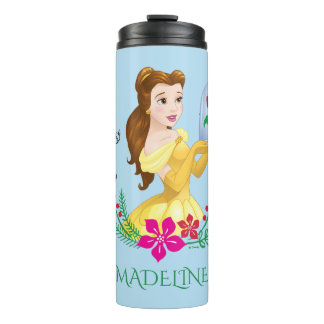 Belle   Belle And Her Christmas Rose Thermal Tumbler