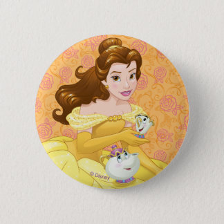 Belle | Besties Chill Together 2 Inch Round Button