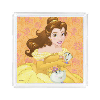 Belle | Besties Chill Together Acrylic Tray