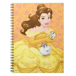 Belle | Besties Chill Together Spiral Notebook