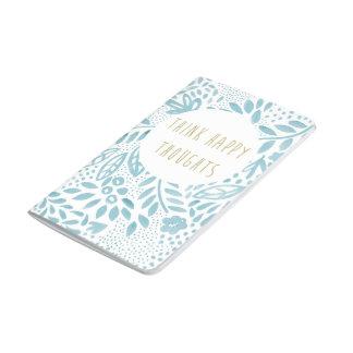 Belle Blue Happy Thoughts Pocket Journal