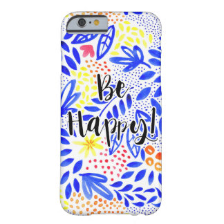 Belle Bold Floral - Be Happy Phone Cover