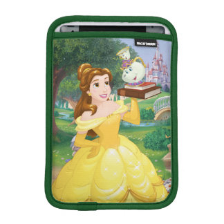 Belle | Books With Mrs. Potts And Chip iPad Mini Sleeve