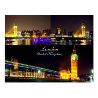 Belle carte postale de Londres