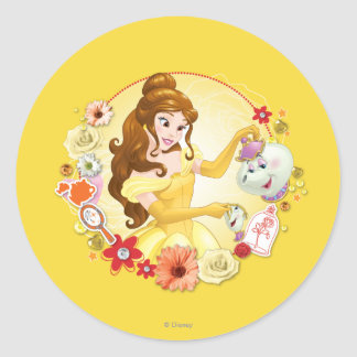 Belle - Compassionate Classic Round Sticker