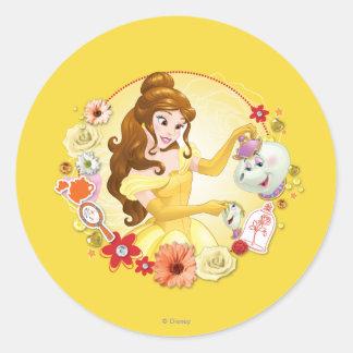 Belle - Compassionate Round Sticker