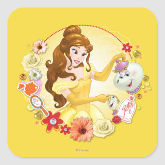 Belle - Compassionate Square Sticker