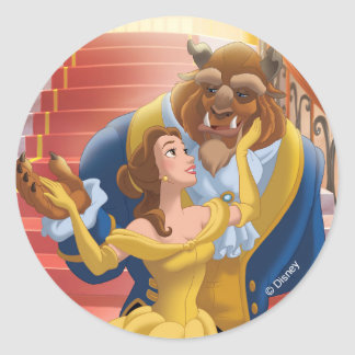 Belle | Fearless Classic Round Sticker
