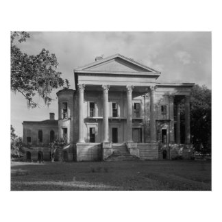 Belle Grove Plantation Poster