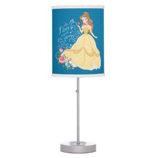 Belle | I Love A Good Story Desk Lamps