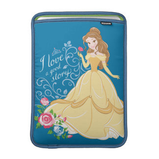 Belle | I Love A Good Story MacBook Air Sleeve