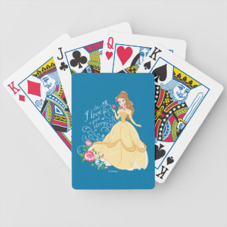 Belle | I Love A Good Story Poker Deck
