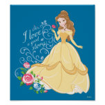 Belle | I Love A Good Story Poster