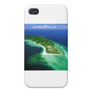 Belle île du Bornéo Coques iPhone 4/4S