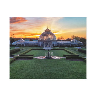 Belle Isle Conservatory Canvas Print