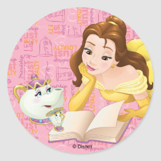 Belle | Loyalty is Royalty Classic Round Sticker