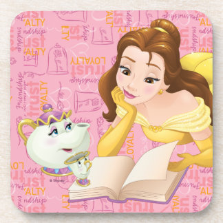 Belle | Loyalty is Royalty Drink Coaster
