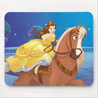 Belle | Never Gives Up Mouse Pad