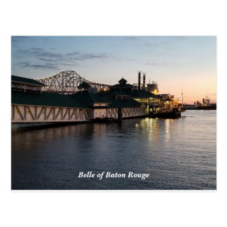 Belle of Baton Rouge Post Card