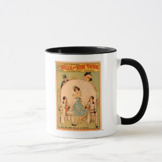 """Belle of New York"" Musical Theatre Poster Mug"
