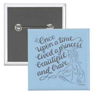 Belle |Once Upon A Time 2 Inch Square Button