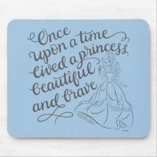 Belle |Once Upon A Time Mouse Pad