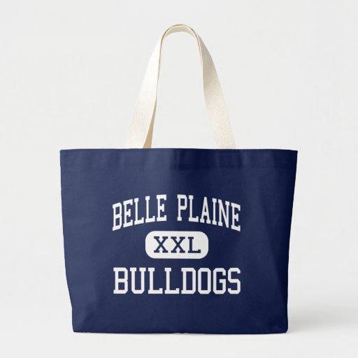 Belle Plaine Bulldogs Middle Belle Plaine Tote Bags