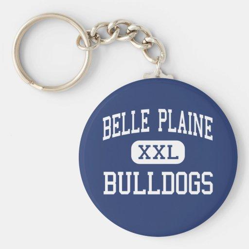 Belle Plaine Bulldogs Middle Belle Plaine Key Chains