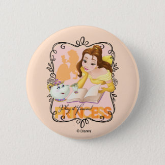 Belle | Play It Forward Princess 2 Inch Round Button