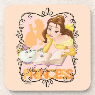 Belle | Play It Forward Princess Beverage Coaster