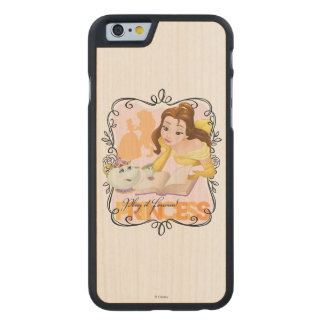 Belle | Play It Forward Princess Carved® Maple iPhone 6 Case