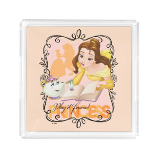Belle | Play It Forward Princess Serving Tray