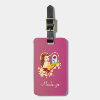 Belle | Red Roses Luggage Tag