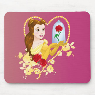 Belle | Red Roses Mouse Pad