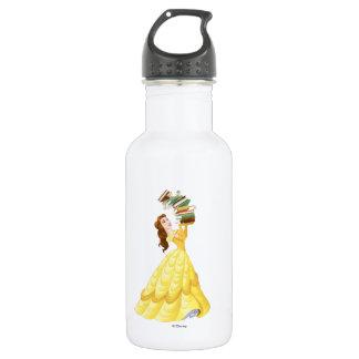 Belle | Stack Of Books 532 Ml Water Bottle