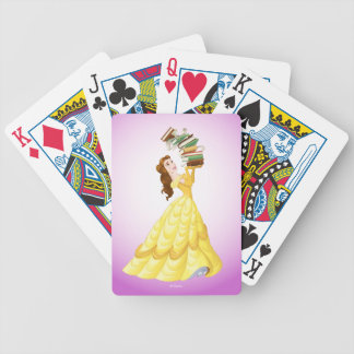 Belle | Stack Of Books Bicycle Playing Cards