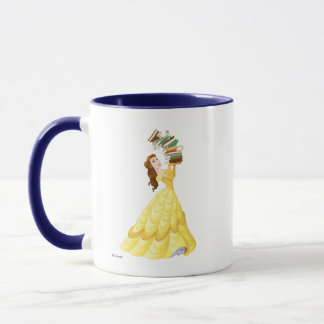 Belle | Stack Of Books Mug
