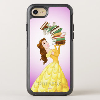 Belle | Stack Of Books OtterBox Symmetry iPhone 8/7 Case