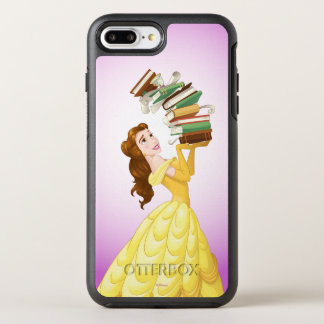 Belle | Stack Of Books OtterBox Symmetry iPhone 8 Plus/7 Plus Case