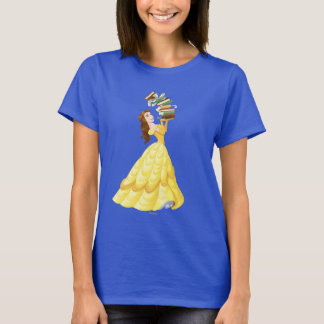 Belle | Stack Of Books T-Shirt