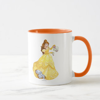 Belle with Mrs. Potts and Chip Mug