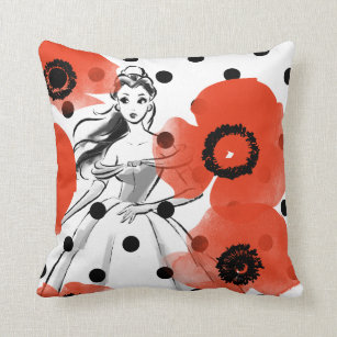 Flower Sketches Pillows Cushions Zazzle Ca