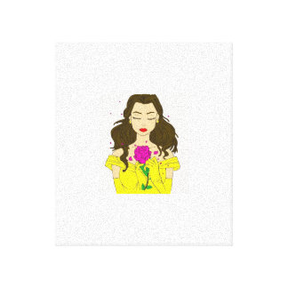 Belle Wrapped Canvas Wall Art