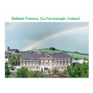 Belleek Pottery, Belleek ,Co.Fermanagh, Ireland Postcard