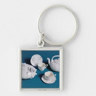Belleek tea service keychain