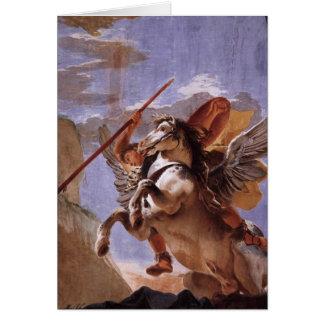 Bellerophon & Pegasus Greeting Card