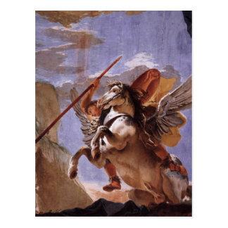 Bellerophon & Pegasus Postcard