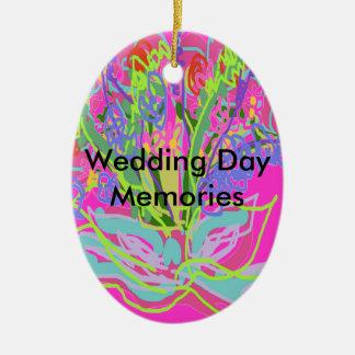 Belles conceptions de mariage décoration pour sapin de noël