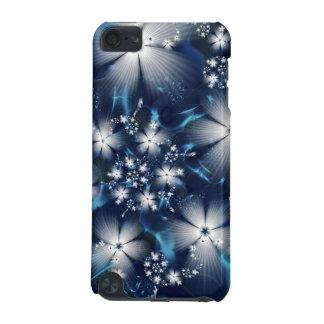 Belles fleurs bleues coque iPod touch 5G